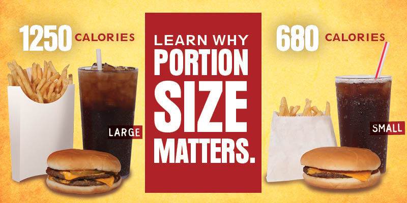 Portion sizes matters